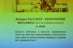 convegno REALTA VIRTUALE-AUMENTATA 2019