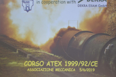 corso DIRETTIVE ATEX 2019