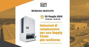 20 Maggio – Modula – Soluzioni di automazione per una Supply Chain più resiliente